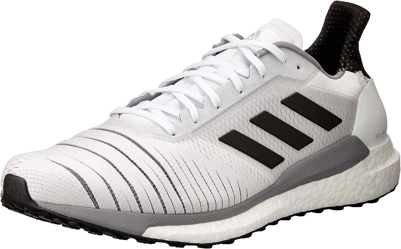 Adidas Australia Men's Solar Glide Running shoes, Footwear White Core Black Grey