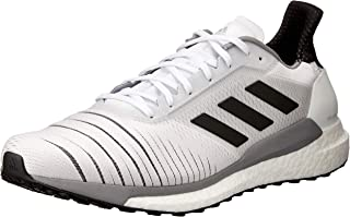 adidas Australia Men's Solar Glide Running Shoes, Footwear White/Core Black/Grey