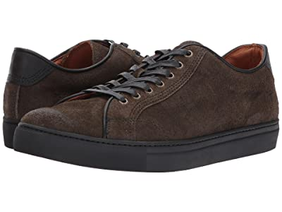 Frye Walker Low Lace (Fatigue Waxed Suede) Men