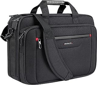 """VANKEAN 18"""" Laptop Bag Premium Laptop Briefcase Fits Up to 17.3 Inch Laptop Expandable Water-Repellent Shoulder Messenger ..."""