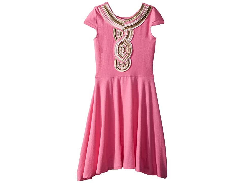 fiveloaves twofish Casablanca Skater Dress (Big Kids) (Pink) Girl