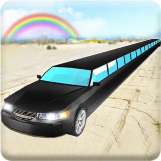 Luxury Limo Taxi Driver City: Conducción en limusina