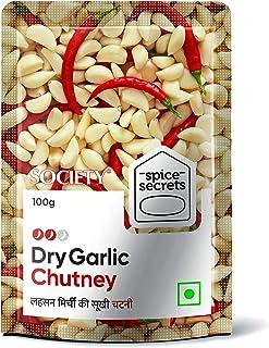 Society Spice Secrets Dry Garlic Chutney, 100 gm