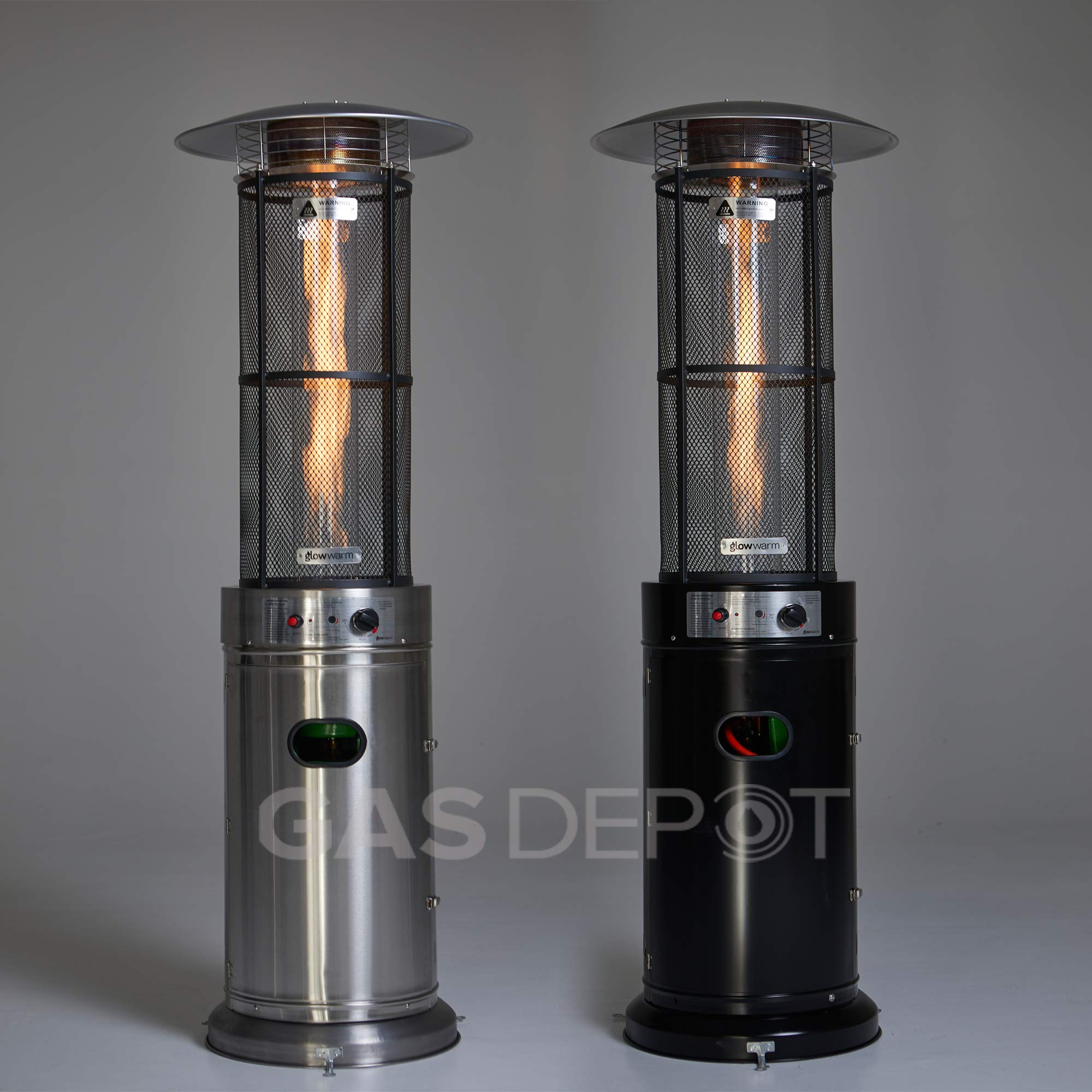 Real Glow 15 KW Flame Patio Heater with