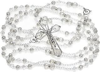 Details and Traditions Aurora Borealis Crystal Wedding Lazo - Lazo de Bodas - Lasso de Bodas - LAJC 616 (Silver)