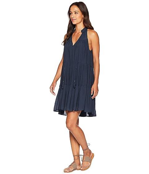 de mangas Rose Landry marino borlas azul sin American Vestido con Y5q7xZpwF