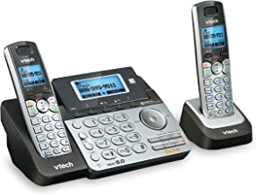 VTech DS6151-2 2 Handset 2-Line Cordless Phone System for Home or Small Business with..