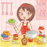 Features a delicious variety of toppings and candy for your donut Ability to cook and prepare donut before decorating Hand-drawn, unique graphics by a renowned artist from Japan Very kid-friendly, and fun for adults too Endless possibilities for deco...