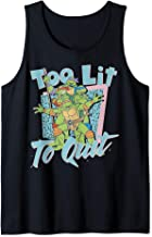 Nickelodeon Teenage Mutant Ninja Turtles Too Lit To Quit Tank Top