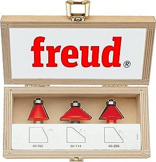 Freud 3 Piece Chamfer Bit Set (1/2