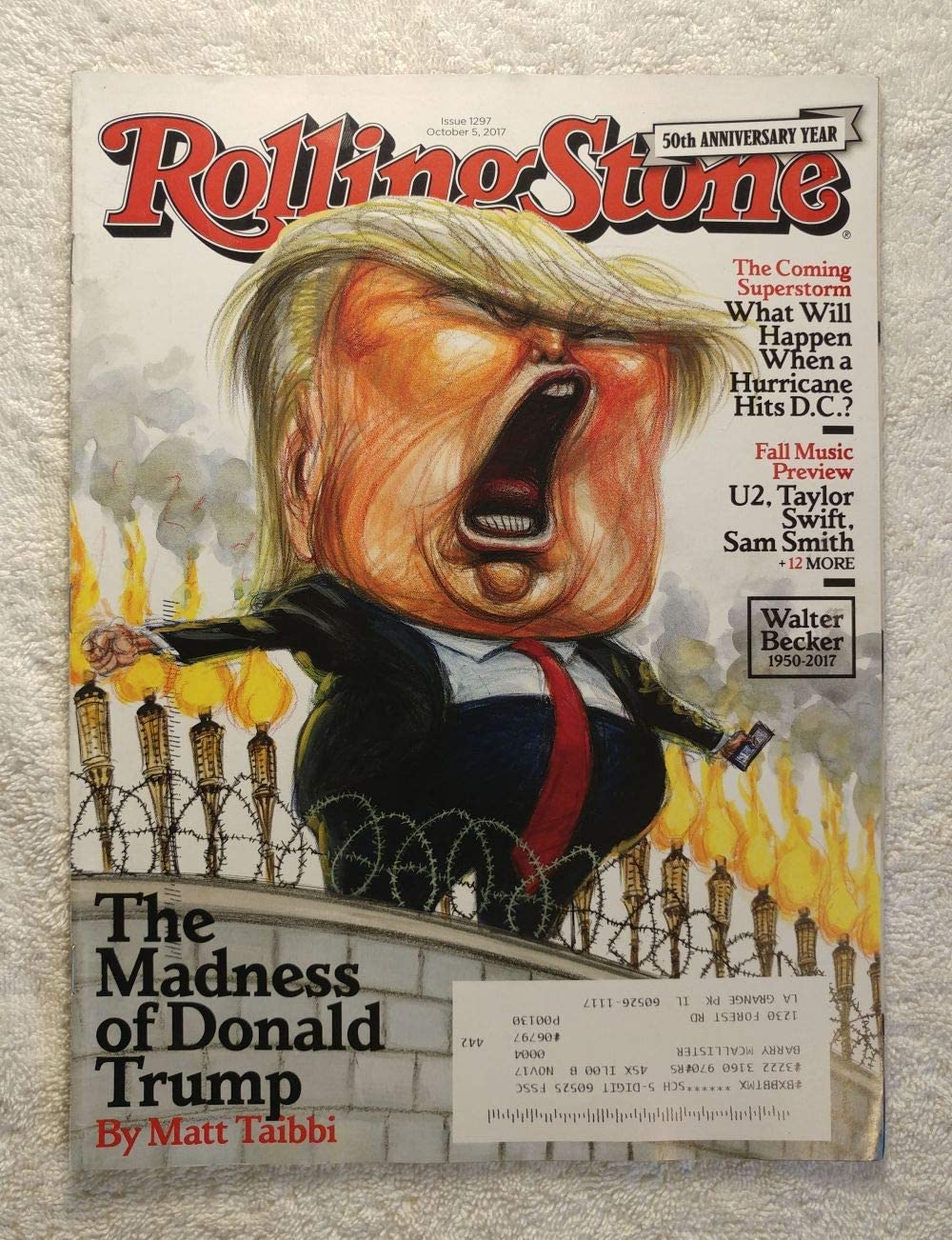 The latest Madness of Donald We OFFer at cheap prices Trump - #1297 O Magazine Stone Rolling