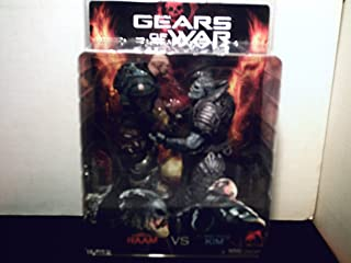Gears Of War Kim Vs Raam 2-Pack Action Figure