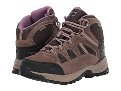 Hi-Tec Red Rock Mid Waterproof (Smokey Brown/Taupe/Very Grape) Women