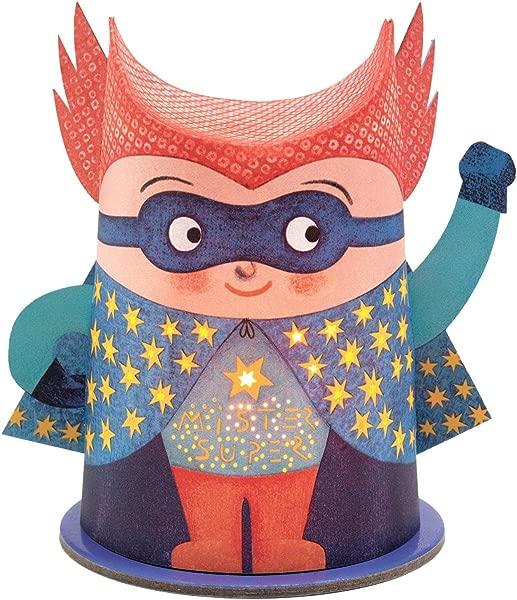 DJECO DD03436 Mini Night Lights Mister Super Novelty
