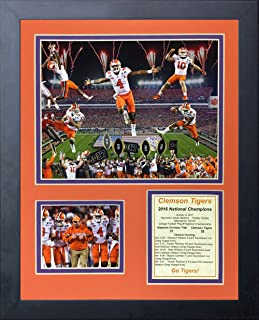 Legends Never Die NCAA Clemson Tigers 2016 CFP National Champions Framed Photo Collage