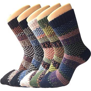 3 pairs LADIES HIGH QUALITY CHUNKY THERMAL WOOL SOCKS HIKE BOOT UK SIZE 4-7 vysl