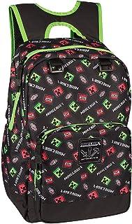 JINX Minecraft Backpack Equipaje infantil 44 centimeters  Negro (Black)