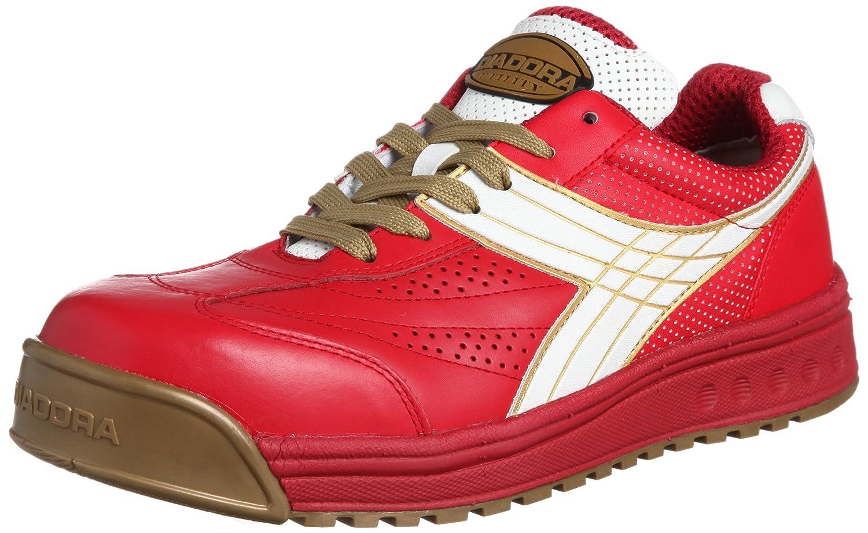 [ディアドラユーティリティ] 作業靴 スニーカー PC31 PC31 レッド&ホワイト(レッド&ホワイト/26.0)