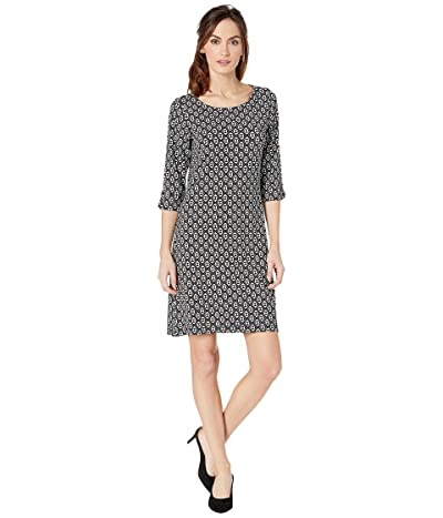 Hatley Lucy Dress (Black Distressed Triangles) Women