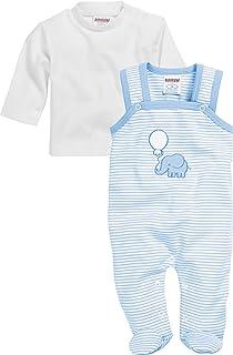 Schnizler Unisex Baby Set Interlock Elefant Strampler