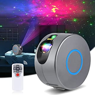 Diealles Shine Proyector Estrellas, 16 Modos Galaxy Projector Light con Control Remoto, Starlights - LED Galaxy Proyector ...
