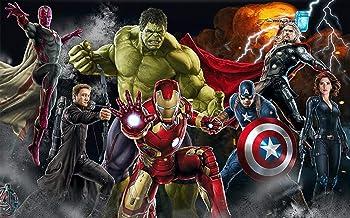 Avengers Fotobehang Custom 3D Behang voor Muren Captain America Muurschildering Jongen Woonkamer TV Achtergrond