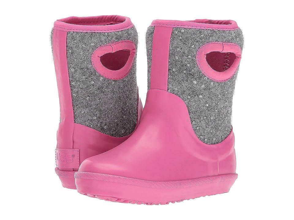 UGG Kids Kex Sparkle (Toddler/Little Kid) (Pink Azalea) Girls Shoes