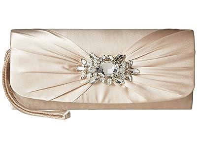 Jessica McClintock Marian Wristlet (Champagne) Handbags