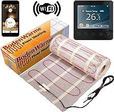 3.0m/² Kit de Tapis de Chauffage Au Sol /Électrique de 150 W Thermostat Blanc Avec /Écran Tactile Nassboards Premium Pro