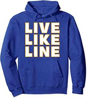 Live Like Line Volleyball Support Hoodie