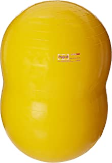 Gymnic Physio-Roll Ball,  22 Inches,  Yellow