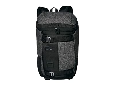 RVCA Voyage Backpack Deluxe (Black/Grey) Backpack Bags