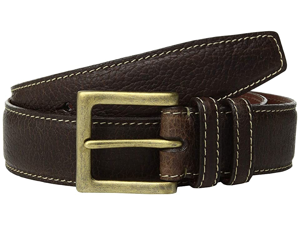 Torino Leather Co. 38 mm Shrunken Bison (Brown) Men