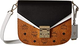 Patricia Visetos Leather Block Shoulder Small