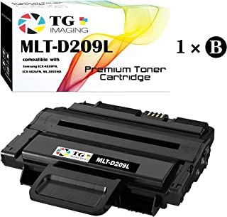 (1-Pack, High Page Yield) Compatible D209L MLT-D209L Toner Cartridge for use in Samsung ML-2855 SCX-4824 SCX-4826 SCX-4828 Printer, Sold by TG imaging