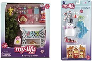 My Life As Holiday Play Set for 18 Inch Dolls, 28 Pieces