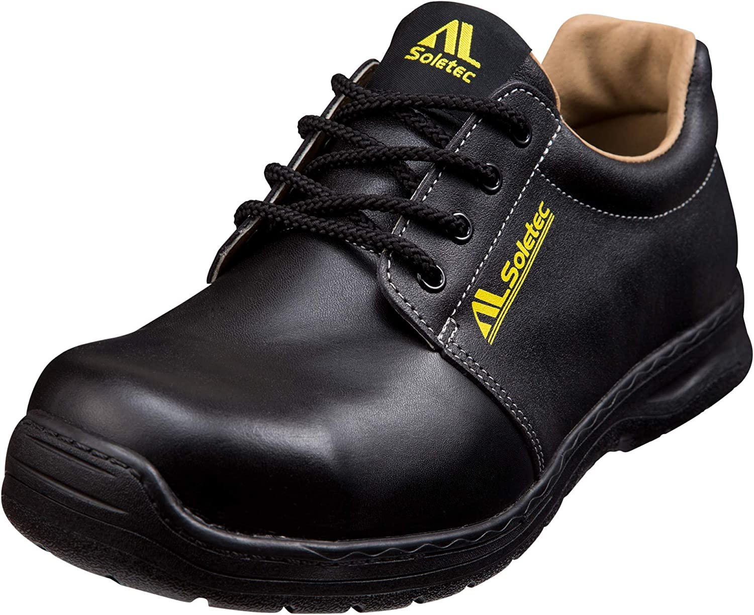 Soletec Men's SuperIron Steel Toe EH Industrial and Construction shoes Puncture Proof Real Leather