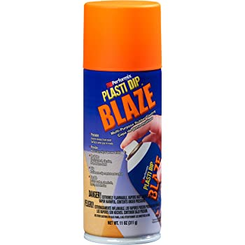 Plasti Dip Performix 11218 Blaze Orange Multi-Purpose Rubber Coating Aerosol - 11 oz.