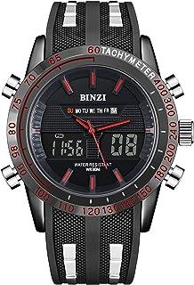 BINZI Sport Watch For Men Analog-Digital Mixed - BZ1519