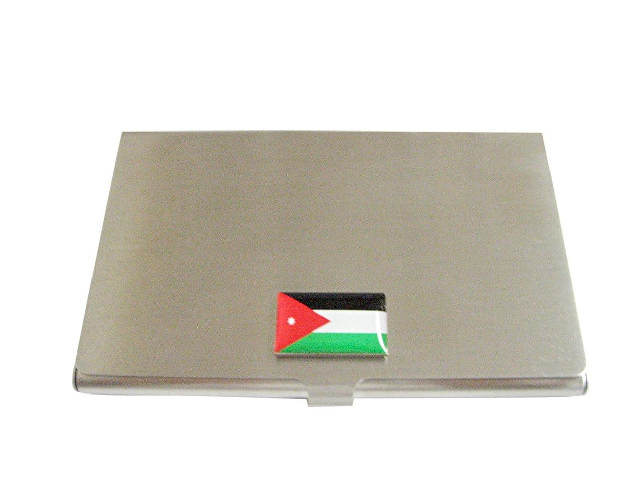暫定村ずらすJordan Flagビジネスカードホルダー