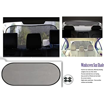 NIKAVI Rear Back Window Sunshade Protection Glare Reduction Shade Protect Sun