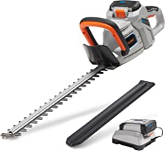 "VonHaus 40V Max 20"" Dual Action Cordless Hedge Trimmer with 2.0Ah Lithium-Ion.."