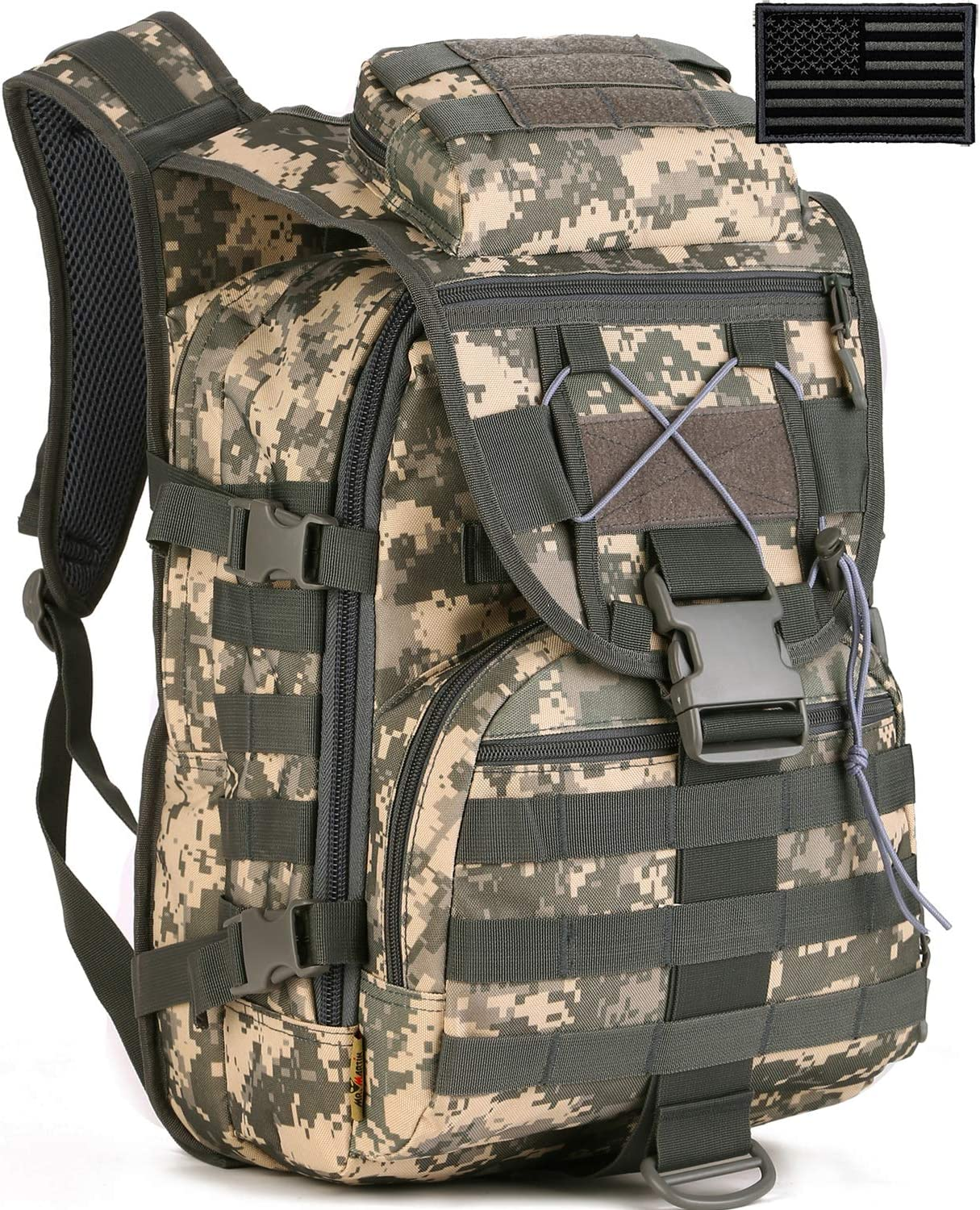 Protector Plus Tactical Max 58% OFF Backpack Assault Military MOLLE Daypack Superior