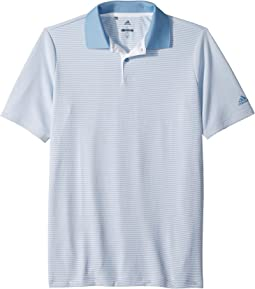 adidas Golf Kids - Microstripe Polo (Big Kids)