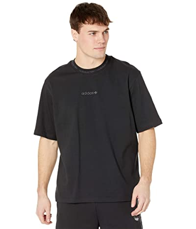 adidas Originals Easter Pack 2.0 Rib Detail Short Sleeve Tee (Black) Men
