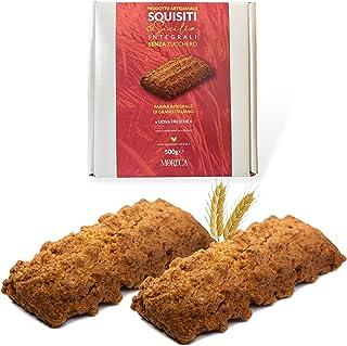Exquise Siciliaanse Volkoren Suikervrij   500gr koekjes in een elegante doos   Ambachtelijke productie met volkoren Italia...