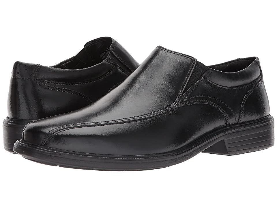 Florsheim Rally Bike Toe Slip-On (Black Smooth) Men