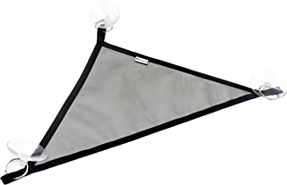 Niteangel 2 Packs Breathable Mesh Reptile Hammock (Triangle 10 x 10 x 15 Black)