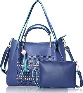 Fiesto Fashion Stylish Purple Handbag for Women with Sling Bag