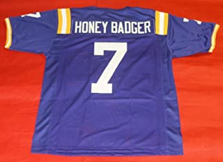 Best tyrann mathieu honey badger jersey Reviews